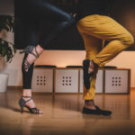 Tanzschuhe Schwarz von Tanzpaar in der Tanzschule