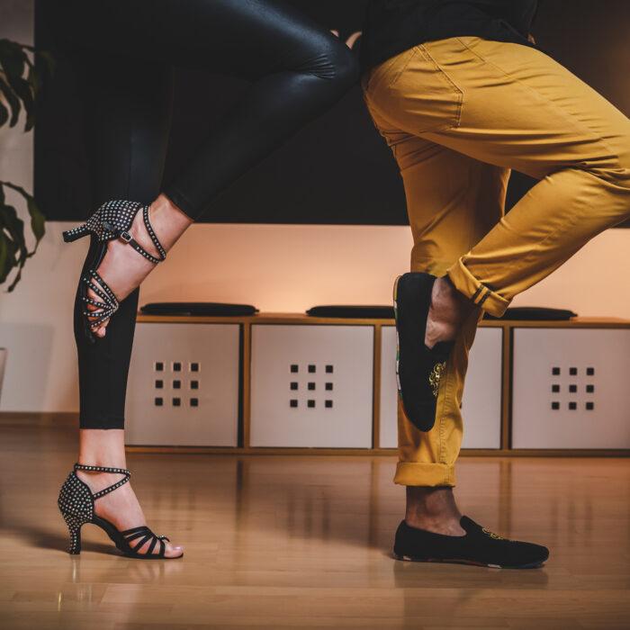 Tanzschuhe Schwarz von Tanzpaar in der Tanzschule2